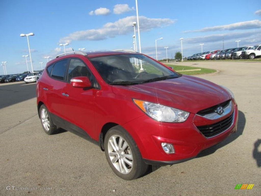 garnet red 2011 hyundai tucson limited awd exterior photo 86243882. Black Bedroom Furniture Sets. Home Design Ideas