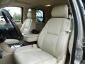 2008 Cadillac Escalade Cocoa/Light Cashmere Interior Front Seat Photo