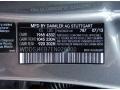 2014 CLA 250 Mountain Gray Metallic Color Code 787