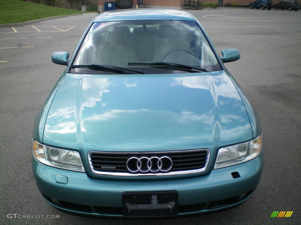 2000 jaspis green metallic audi a4 1 8t quattro sedan. Black Bedroom Furniture Sets. Home Design Ideas