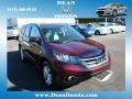 2012 Basque Red Pearl II Honda CR-V EX-L 4WD  photo #1
