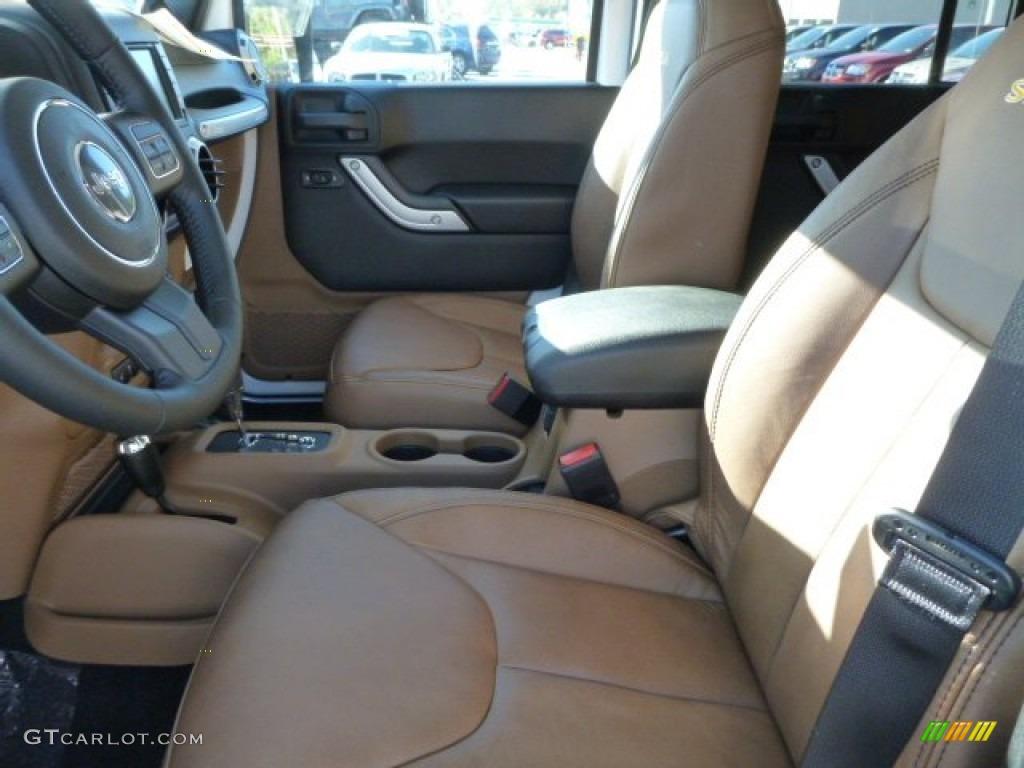 2014 Bright White Jeep Wrangler Unlimited Sahara 4x4 86260672 Photo 10 Car