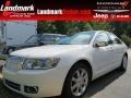 2008 White Suede Lincoln MKZ Sedan  photo #1