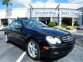 Black 2008 Mercedes-Benz CLK 350 Cabriolet