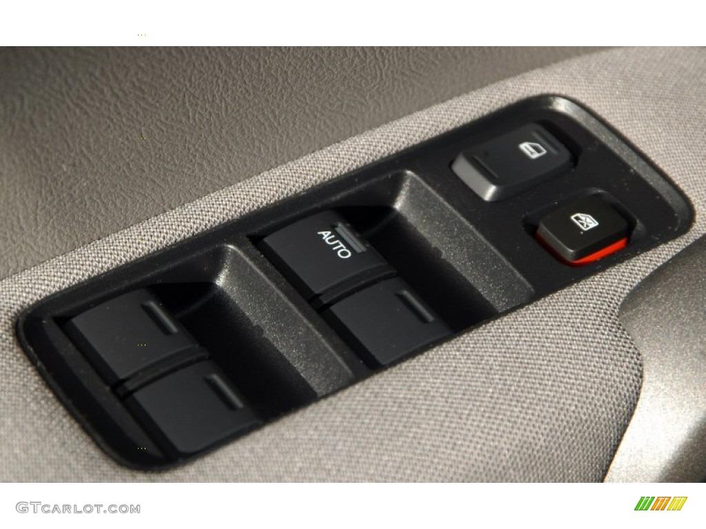 2010 CR-V LX AWD - Taffeta White / Gray photo #8