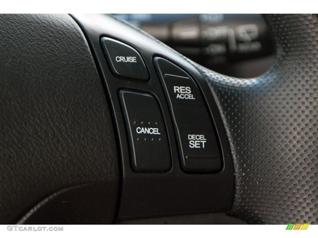 2010 CR-V LX AWD - Taffeta White / Gray photo #11
