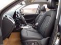 Black 2014 Audi Q5 Interiors