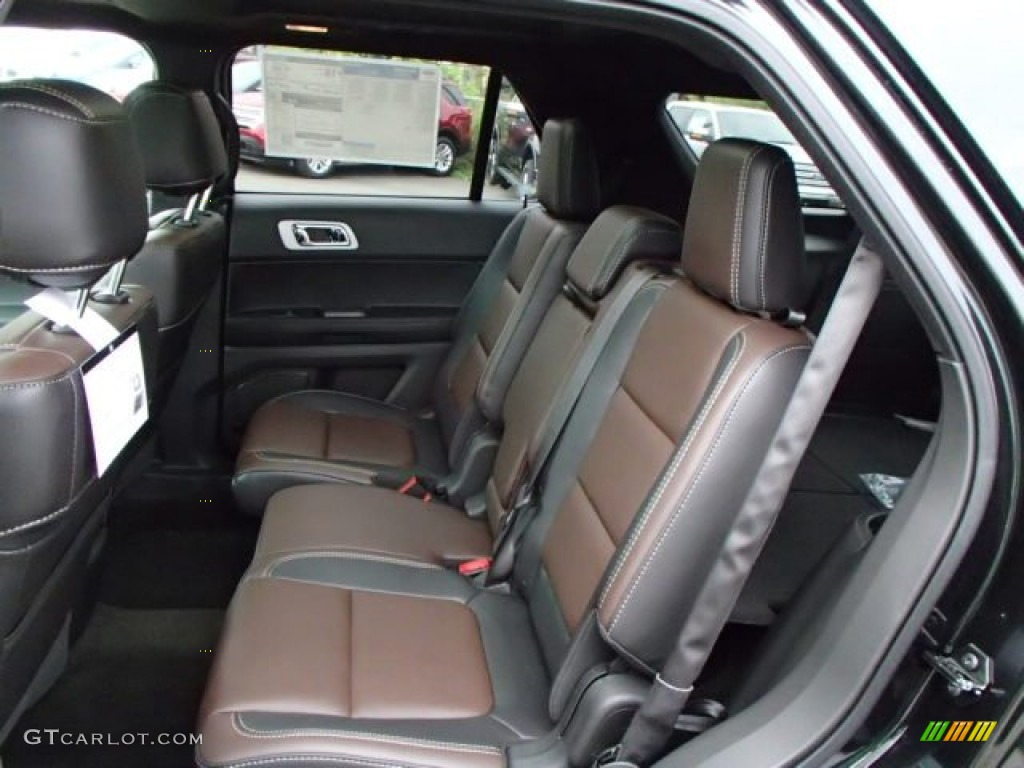 sport charcoal blacksienna interior 2014 ford explorer sport 4wd photo 86300322