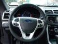 2014 Ford Explorer Sport Charcoal Black/Sienna Interior Steering Wheel Photo