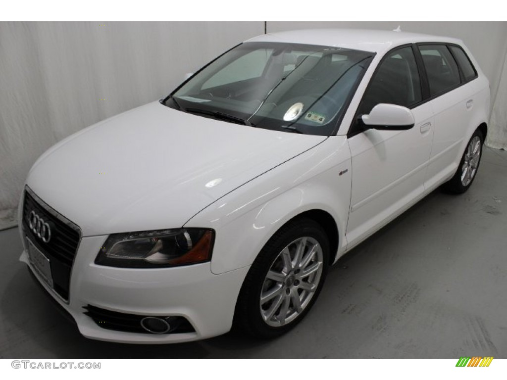 ibis white 2012 audi a3 2 0t quattro exterior photo 86304414. Black Bedroom Furniture Sets. Home Design Ideas