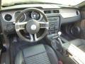 2011 Ford Mustang Charcoal Black/Black Interior Prime Interior Photo