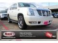 White Diamond Tricoat 2011 Cadillac Escalade Luxury