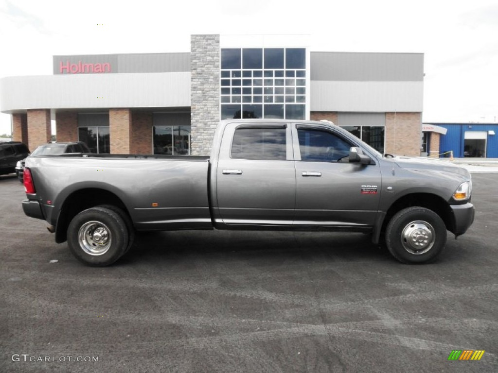 2010 Ram 3500 SLT Crew Cab 4x4 Dually - Mineral Gray Metallic / Dark Slate/Medium Graystone photo #1
