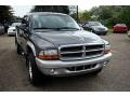 2004 Graphite Metallic Dodge Dakota SLT Quad Cab 4x4  photo #2