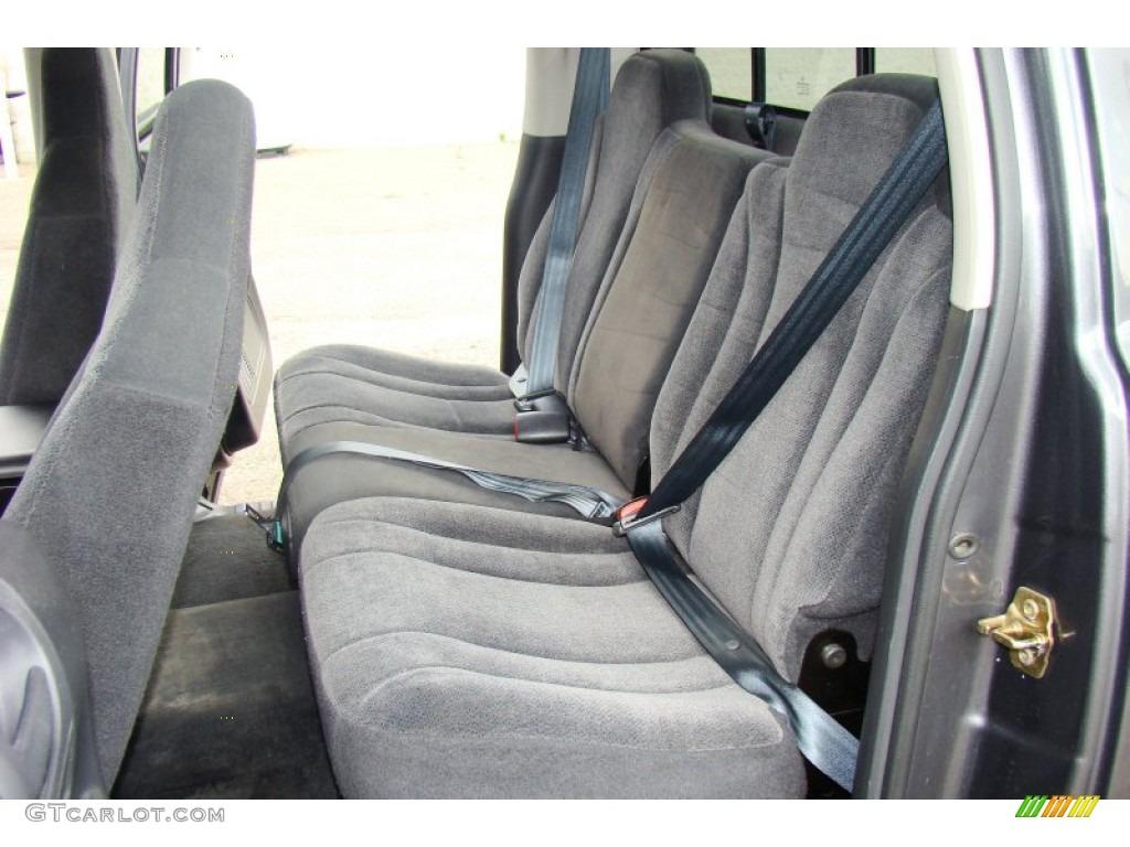 2004 Dakota SLT Quad Cab 4x4 - Graphite Metallic / Dark Slate Gray photo #20
