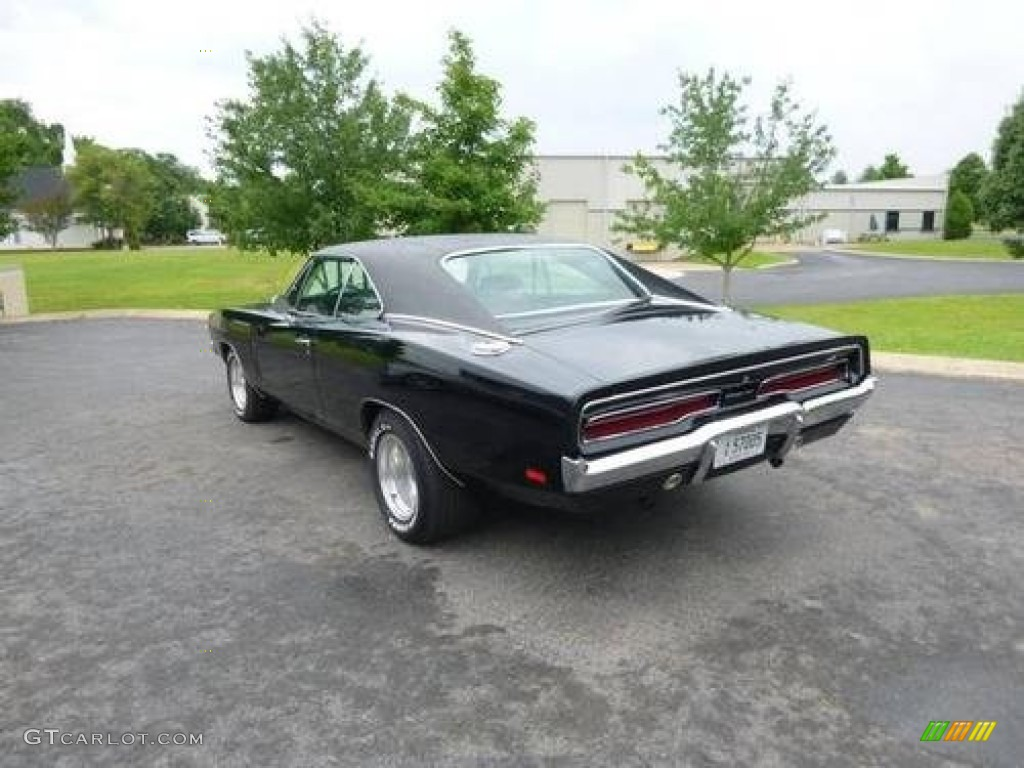 1969 Black Dodge Charger Hardtop 86354604 Photo 5 Interior