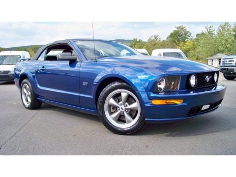 2006 Ford Mustang GT Deluxe Convertible Data, Info and Specs