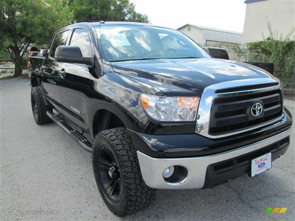 2013 Tundra Texas Edition CrewMax 4x4 - Black / Graphite photo #1