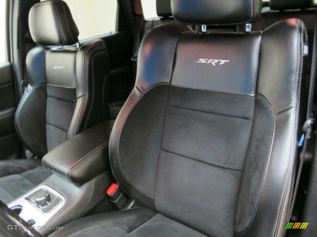 2012 jeep grand cherokee srt8 4x4 front seat photo 86370825. Black Bedroom Furniture Sets. Home Design Ideas