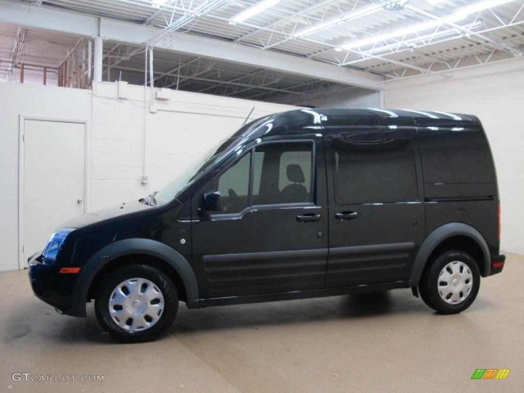 panther black metallic 2012 ford transit connect xlt wagon. Black Bedroom Furniture Sets. Home Design Ideas