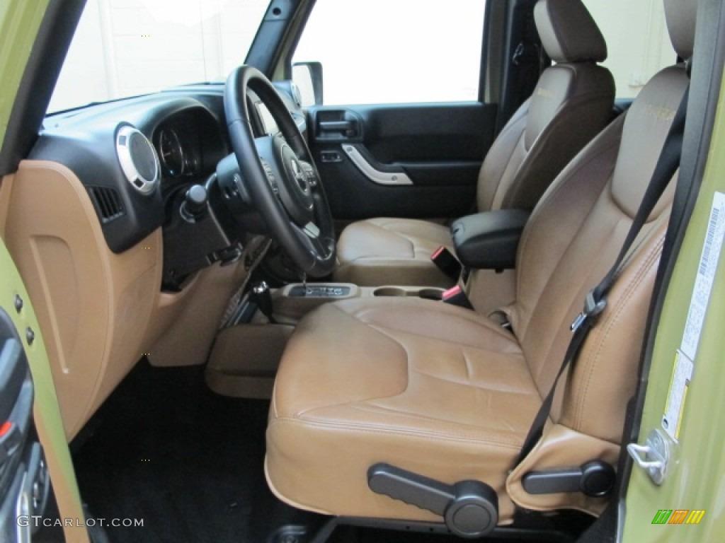 Black Dark Saddle Interior 2013 Jeep Wrangler Unlimited Sahara 4x4 Photo 86376741