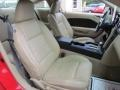2008 Ford Mustang Medium Parchment Interior Front Seat Photo