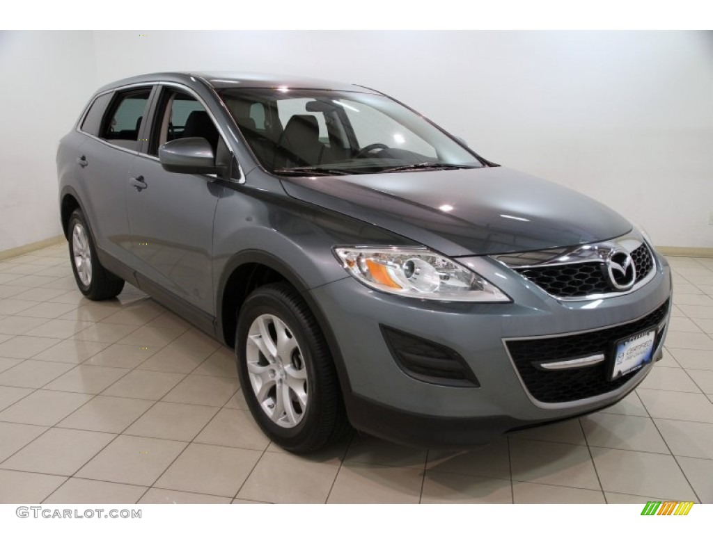 2011 dolphin gray mica mazda cx 9 sport awd 86354469. Black Bedroom Furniture Sets. Home Design Ideas