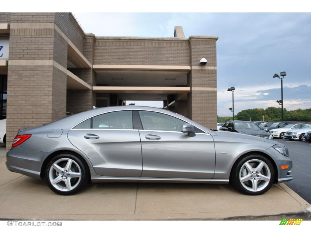 Palladium silver metallic 2012 mercedes benz cls 550 for 2012 mercedes benz cls