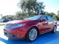 RR - Ruby Red Metallic Lincoln MKS (2014)