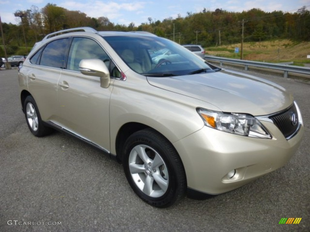 2011 satin cashmere metallic lexus rx 350 awd 86354458. Black Bedroom Furniture Sets. Home Design Ideas