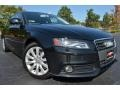 Brilliant Black 2009 Audi A4 2.0T Premium quattro Sedan