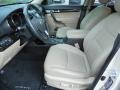 Beige Front Seat Photo for 2011 Kia Sorento #86395239