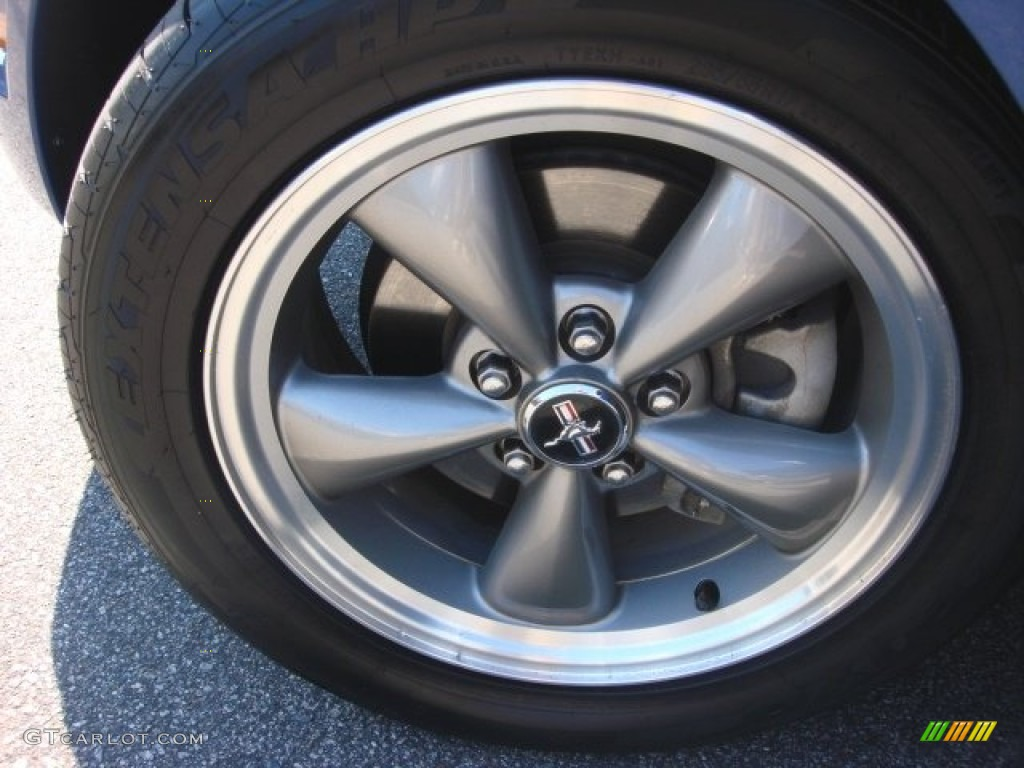 2006 Ford Mustang V6 Premium Coupe Wheel Photo #86399751