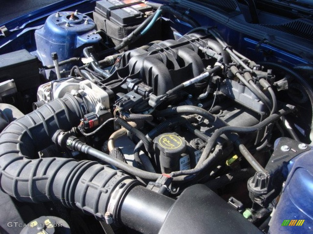 2006 Ford Mustang V6 Premium Coupe 4.0 Liter SOHC 12-Valve V6 Engine Photo #86399769