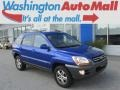 Smart Blue Metallic 2008 Kia Sportage LX V6