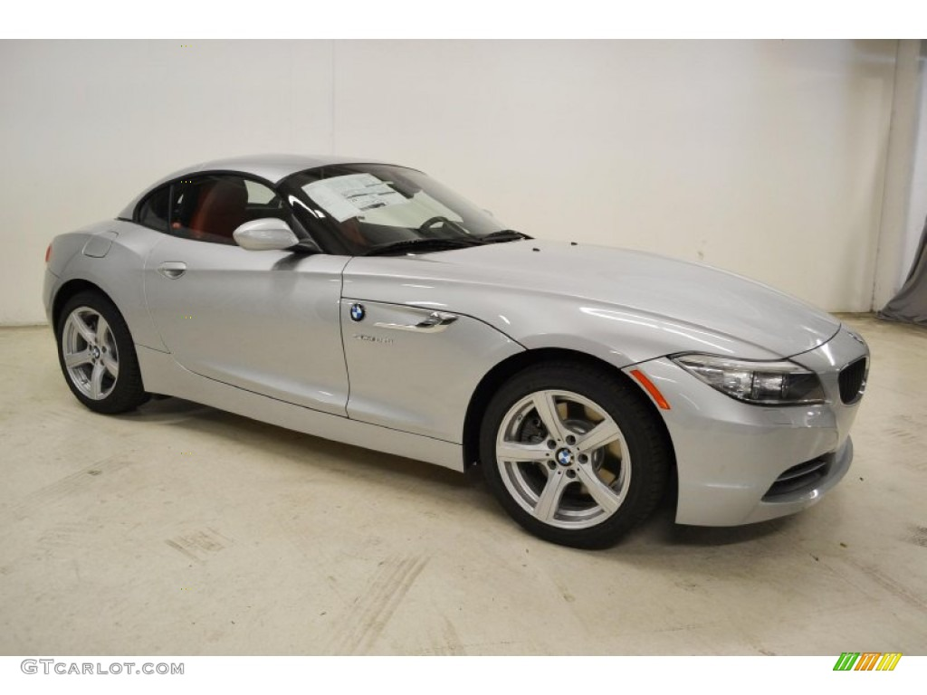 glacier silver metallic 2014 bmw z4 sdrive28i exterior. Black Bedroom Furniture Sets. Home Design Ideas