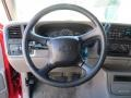 1999 Chevrolet Silverado 1500 Graphite Interior Steering Wheel Photo