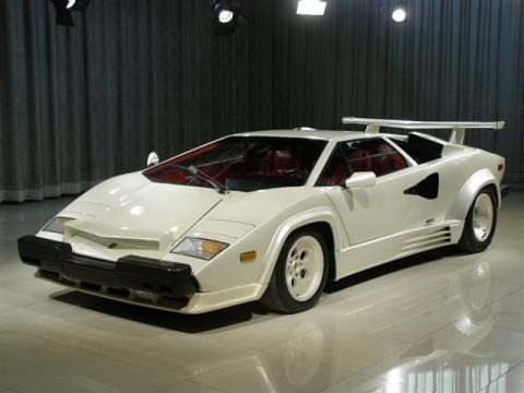 1988 lamborghini countach 5000 quattrovalvole data info and specs gtcarlot. Black Bedroom Furniture Sets. Home Design Ideas
