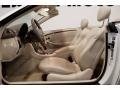 2007 CLK 550 Cabriolet Stone Interior