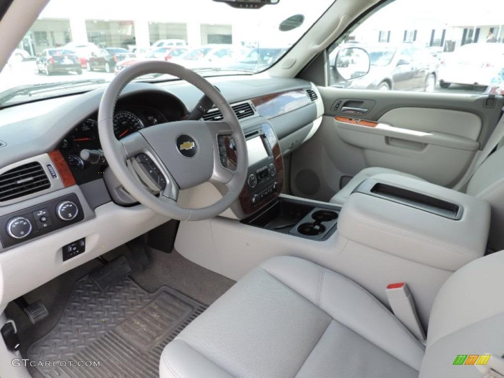 Light Titanium/Dark Titanium Interior 2013 Chevrolet Silverado 1500 LTZ Crew Cab 4x4 Photo #86442255