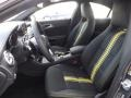 2014 CLA Edition 1 Neon Art Black/DINAMICA w/Yellow Stitching Interior