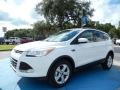 2014 White Platinum Ford Escape SE 1.6L EcoBoost  photo #1