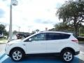 2014 White Platinum Ford Escape SE 1.6L EcoBoost  photo #2