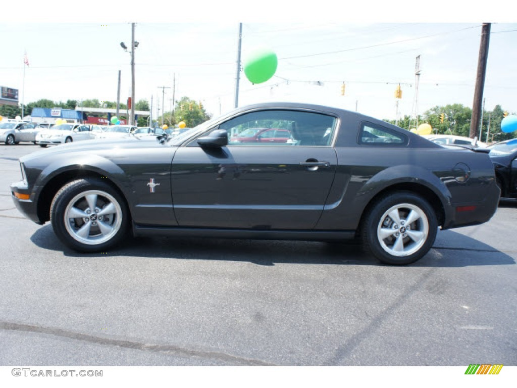 alloy metallic 2008 ford mustang v6 premium coupe exterior. Black Bedroom Furniture Sets. Home Design Ideas