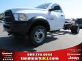 Bright White 2014 Ram 5500 SLT Regular Cab 4x4 Chassis