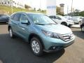 2014 Mountain Air Metallic Honda CR-V EX-L AWD  photo #1