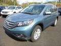 2014 Mountain Air Metallic Honda CR-V EX-L AWD  photo #7