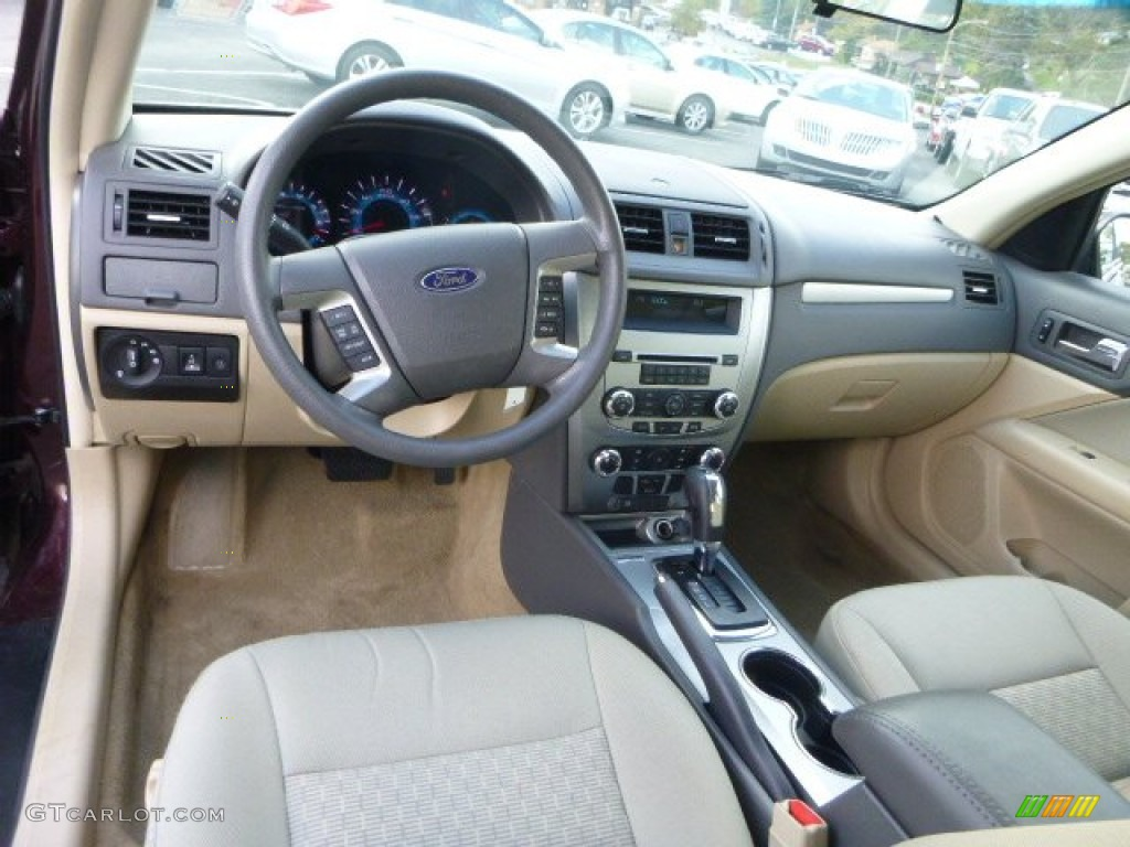 2011 ford fusion se interior color photos
