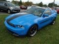 2011 Grabber Blue Ford Mustang GT/CS California Special Coupe  photo #3