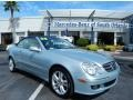Diamond Silver Metallic - CLK 350 Cabriolet Photo No. 1